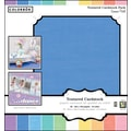 Colorbok 12x12 Textured Cardstock, Soft Pastels
