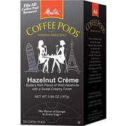 Melitta® Hazelnut Cream Coffee Pods, Regular, 18 Pods