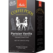 Melitta® Parisian Vanilla Coffee Pods, Regular, 18 Pods