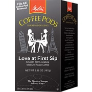 Melitta® Love at First Sip Coffee Pods, Regular, 18 Pods