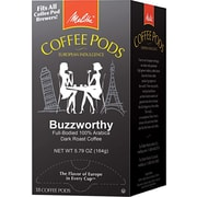 Melitta® Buzzworthy Coffee Pods, Regular, 18 Pods