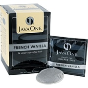 Java One® Single Cup French Vanilla Ground Coffee, Regular, .3 oz., 14 Pods