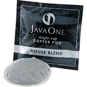 Java One® Single Cup House Blend Ground Coffee, Regular, .3 oz., 14 Pods