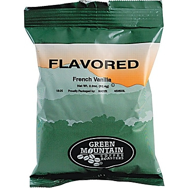 Green Mountain® French Vanilla Ground Coffee, Regular, 2.2 oz., 50 Packets