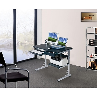 The Sharper Image Computer Workstation with USB Hub, Graphite