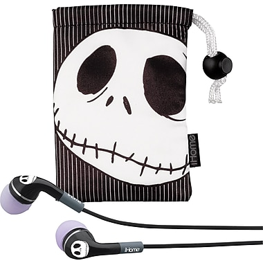 iHome Disney Noise-Isolating Headphones, Jack The Pumpkin King