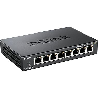 D-Link® DGS-108 8 Port Gigabit Switch