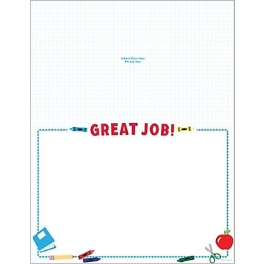 Great Papers® School Tools Photo Certificate