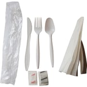 Berkley Square Medium Weight Cutlery Kit, 250/Pack