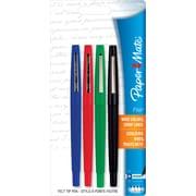 Paper Mate® Flair® Felt-Tip Pens, Medium Point, Assorted, 4/Pack