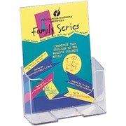 Staples® Acrylic Literature Holder, Pamphlet Size