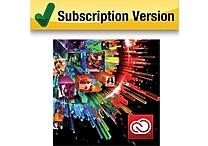 Adobe® Creative Cloud™ [1 Year Student & Teacher Subscription]