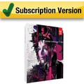 Adobe InDesign CS6 [1 Year Subscription Card]