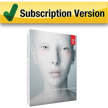 Adobe Photoshop CS6 [1 Year Subscription Card]