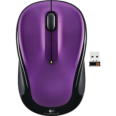 Logitech M325 Wireless Optical Mouse, Ambidextrous, Vivid Violet (910-003120)