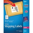 "Avery® 5164 White Laser Shipping Labels with TrueBlock™, 3-1/3"" x 4"", 600/Box"