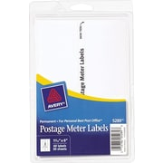 "Avery® 5289 Postage Meter Labels for Pitney Bowes® Personal Post Office, 1 3/16"" X 6"" (13931/5289)"