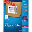 "Avery® 5165 White Laser Full Sheet shipping Labels with TrueBlock™, 8-1/2"" x 11"", 100/Box"