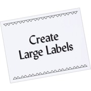 Avery® 5353 White Copier Full Sheet Shipping Labels, 8-1/2 x 11, 100/Box