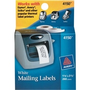 Avery® 4150 Label Printer Labels, 1-1/8 x 3-1/2, 260 Labels
