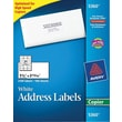 Avery® 5360 White Copier Address Labels, 1-1/2in. x 2-13/16in., 2,100/Box