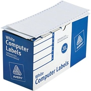 Avery® 4022 White Pin-Fed Computer Labels, 4 x 1-15/16, 5,000/Box