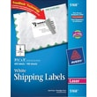 "Avery® 5168 White Laser Shipping Labels with TrueBlock™, 3-1/2"" x 5"", 400/Box"