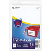Avery® 5444 Print-or-Write Multiuse ID Labels, 2H x 4L, 100/Pack
