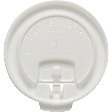 SOLO® Liftback & Lock Tab Lids for Trophy Hot Cups, 10 oz., 2,000/Case