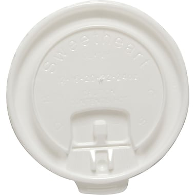 SOLO® Liftback & Lock Tab Lids for Trophy Hot Cups, 12-16 oz., 2,000/Case