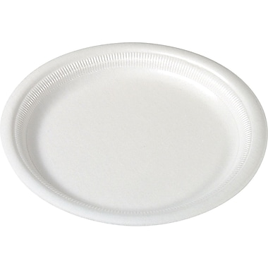 SOLO Basix Foam Plates, 9in., 125/Pack