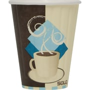 SOLO® Tuscan Cafe™ Duo Shield® Insulated Paper Hot Cups, 8 oz., 1,000/Case