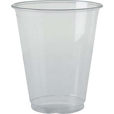 SOLO PETE Ultra Clear Translucent Plastic Cold Cups, 7 oz., 1,000/Case