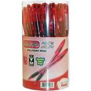 Pentel R.S.V.P.® Razzle-Dazzle™ Pink Ribbon Ballpoint Pens, Medium Point, Black, 36/Pack