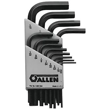 Allen® Tools 9 Pieces Metric Short Arm Hex Key Set, 1.5 - 10 mm