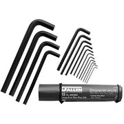 Allen® Tools 15 Pieces Metric Long Arm Hex Key Set, Alloy Steel, 0.900 - 19 mm