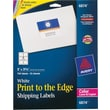 Avery 6874 Color Printing Matte White Laser Shipping Labels, 3in. X 3-3/4in., 150/Box