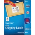 Avery 8164 White Inkjet Shipping Labels with TrueBlock™, 3-1/3in. x 4in., 150/Box