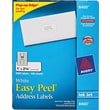 Avery 8460 White Inkjet Address Labels with Easy Peel®, 1in. x 2-5/8in., 3,000/Box