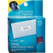 Avery® 9170 Personal Label Printer Address Labels, 1 x 2-5/8