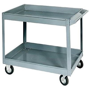Jet® SC-2436 Two-Shelf Truck Service Cart, 500 lbs. Load, 32 in (H) x 25.5 in (W) x 38 in (L), Steel