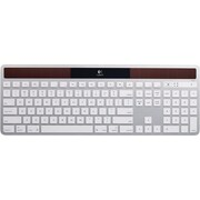 Logitech K750 Full-Size Wireless Solar Keyboard for Mac, Silver (920-003677)