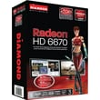 DIAMOND AMD Radeon™ HD 6670 PCIE 2GB GDDR3 Video Graphics Card