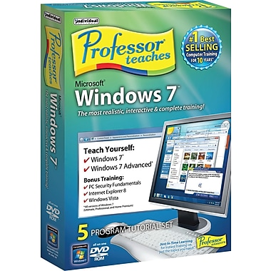Professor Teaches Windows 7 [Boxed]