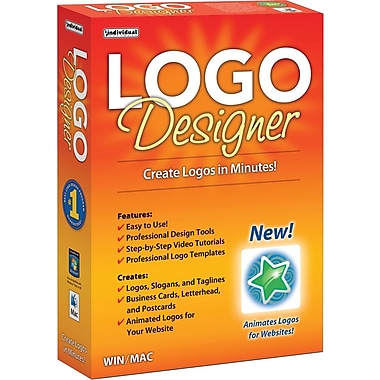 Logo Designer for Windows/Mac (1-User) [Boxed]