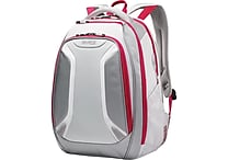 Samsonite Vizair Laptop Backpack, Silver/Pink