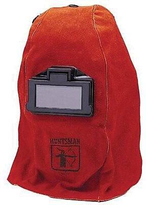 Jackson Huntsman Series W20 400 Welding Helmet, 2 in (W) x 4 1/4 in (L) Window, Red 702933