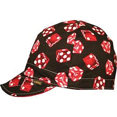 LAPCO Reversible 4 Panel Cotton Assorted Pattern Welding Cap, 7 3/4 in