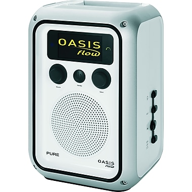Pure Oasis Flow Rechargeable Weatherproof Digital FM and Internet Radio