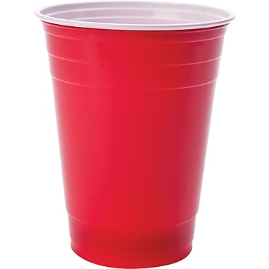 Goodtimes Red Plastic Cups, 50/Pack